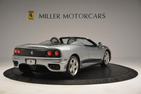 Used 2004 Ferrari 360 Spider 6-Speed Manual for sale Sold at Maserati of Greenwich in Greenwich CT 06830 7