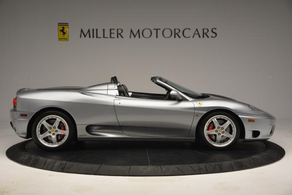 Used 2004 Ferrari 360 Spider 6-Speed Manual for sale Sold at Maserati of Greenwich in Greenwich CT 06830 9