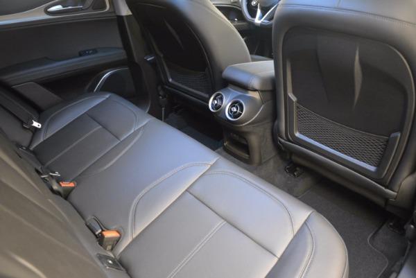 New 2018 Alfa Romeo Stelvio Ti Q4 for sale Sold at Maserati of Greenwich in Greenwich CT 06830 21