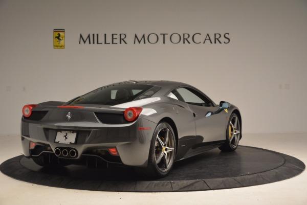 Used 2011 Ferrari 458 Italia for sale Sold at Maserati of Greenwich in Greenwich CT 06830 7