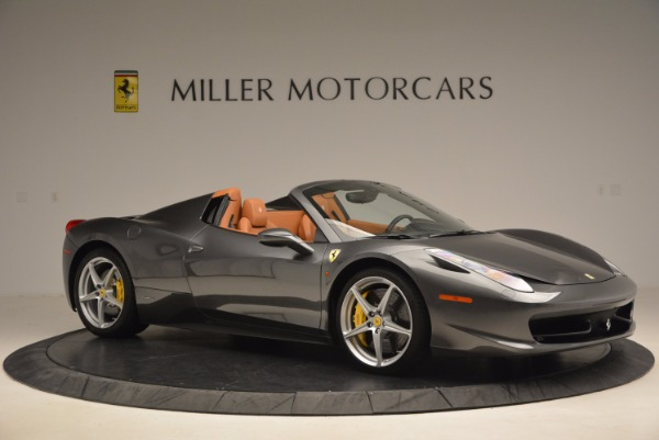 Used 2015 Ferrari 458 Spider for sale Sold at Maserati of Greenwich in Greenwich CT 06830 10