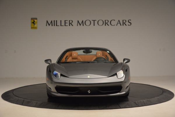 Used 2015 Ferrari 458 Spider for sale Sold at Maserati of Greenwich in Greenwich CT 06830 12