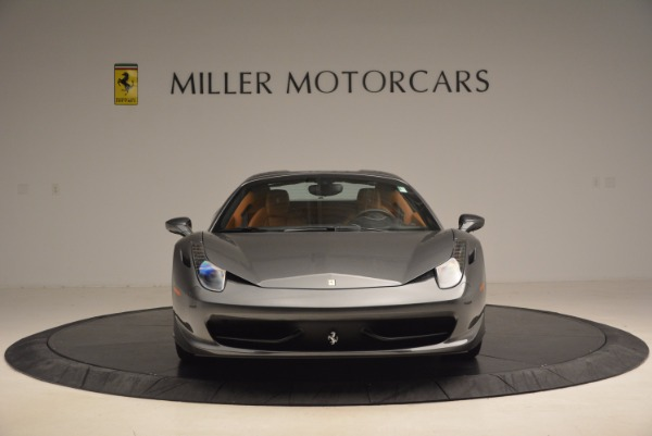 Used 2015 Ferrari 458 Spider for sale Sold at Maserati of Greenwich in Greenwich CT 06830 24