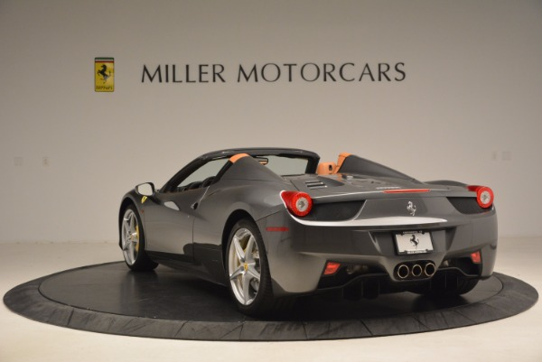 Used 2015 Ferrari 458 Spider for sale Sold at Maserati of Greenwich in Greenwich CT 06830 5