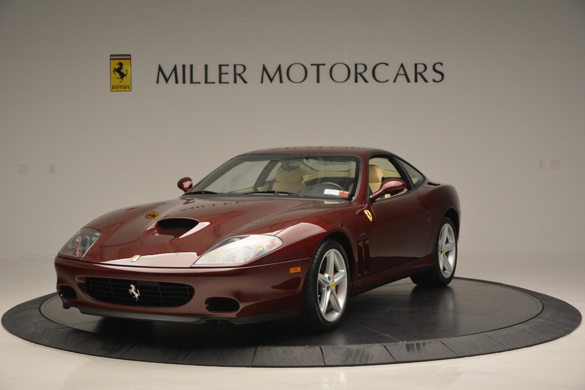 Used 2003 Ferrari 575M Maranello 6-Speed Manual for sale Sold at Maserati of Greenwich in Greenwich CT 06830 1