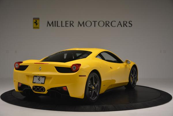 Used 2011 Ferrari 458 Italia for sale Sold at Maserati of Greenwich in Greenwich CT 06830 7