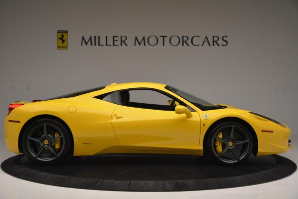Used 2011 Ferrari 458 Italia for sale Sold at Maserati of Greenwich in Greenwich CT 06830 9