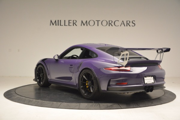 Used 2016 Porsche 911 GT3 RS for sale Sold at Maserati of Greenwich in Greenwich CT 06830 5