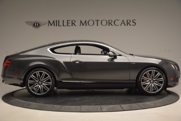 Used 2014 Bentley Continental GT Speed for sale Sold at Maserati of Greenwich in Greenwich CT 06830 9