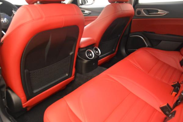 New 2017 Alfa Romeo Giulia Ti Sport Q4 for sale Sold at Maserati of Greenwich in Greenwich CT 06830 16