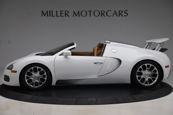 Used 2011 Bugatti Veyron 16.4 Grand Sport for sale Call for price at Maserati of Greenwich in Greenwich CT 06830 3