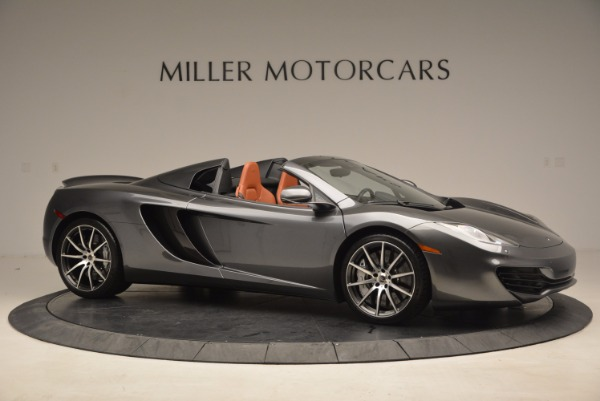 Used 2014 McLaren MP4-12C SPIDER Convertible for sale Sold at Maserati of Greenwich in Greenwich CT 06830 10