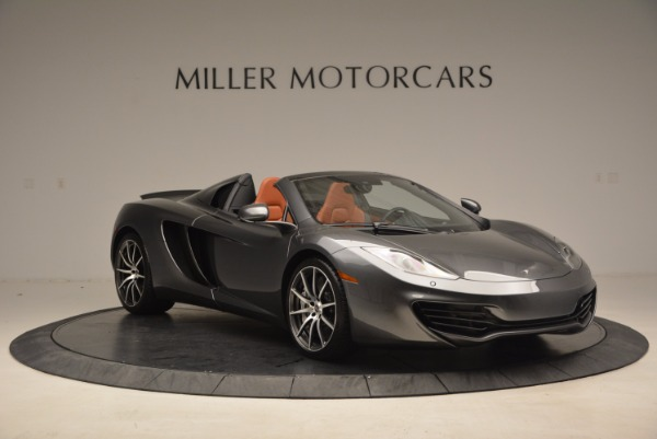 Used 2014 McLaren MP4-12C SPIDER Convertible for sale Sold at Maserati of Greenwich in Greenwich CT 06830 11