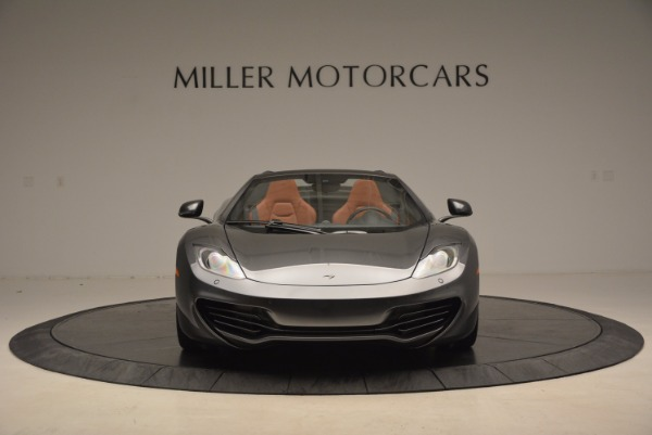 Used 2014 McLaren MP4-12C SPIDER Convertible for sale Sold at Maserati of Greenwich in Greenwich CT 06830 12