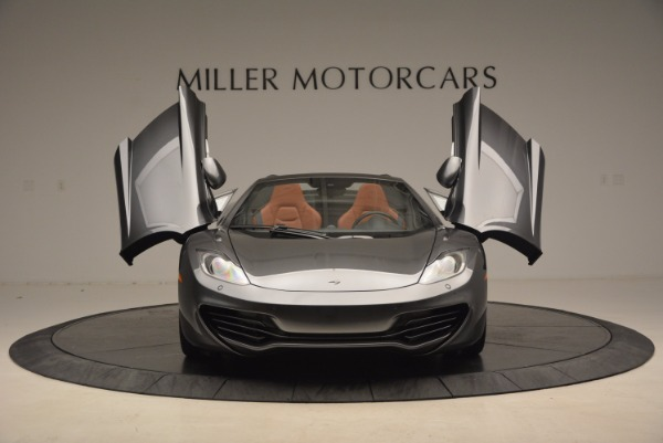 Used 2014 McLaren MP4-12C SPIDER Convertible for sale Sold at Maserati of Greenwich in Greenwich CT 06830 13
