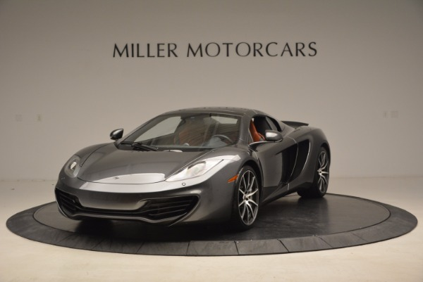 Used 2014 McLaren MP4-12C SPIDER Convertible for sale Sold at Maserati of Greenwich in Greenwich CT 06830 14
