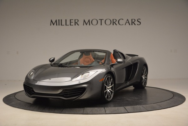 Used 2014 McLaren MP4-12C SPIDER Convertible for sale Sold at Maserati of Greenwich in Greenwich CT 06830 2