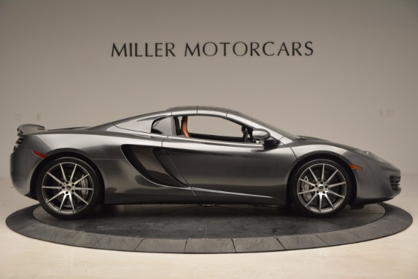 Used 2014 McLaren MP4-12C SPIDER Convertible for sale Sold at Maserati of Greenwich in Greenwich CT 06830 22