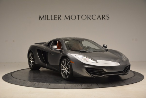 Used 2014 McLaren MP4-12C SPIDER Convertible for sale Sold at Maserati of Greenwich in Greenwich CT 06830 24