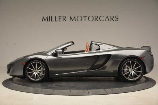 Used 2014 McLaren MP4-12C SPIDER Convertible for sale Sold at Maserati of Greenwich in Greenwich CT 06830 3