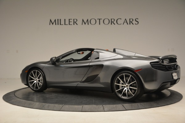 Used 2014 McLaren MP4-12C SPIDER Convertible for sale Sold at Maserati of Greenwich in Greenwich CT 06830 4
