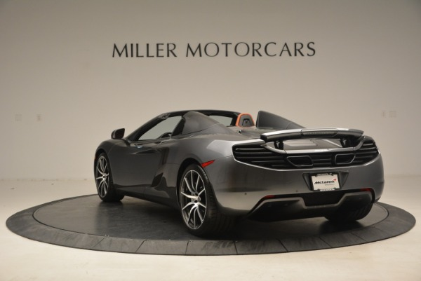 Used 2014 McLaren MP4-12C SPIDER Convertible for sale Sold at Maserati of Greenwich in Greenwich CT 06830 5