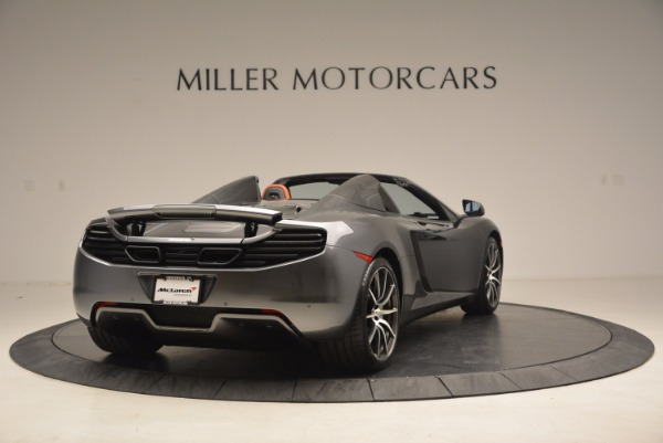 Used 2014 McLaren MP4-12C SPIDER Convertible for sale Sold at Maserati of Greenwich in Greenwich CT 06830 7