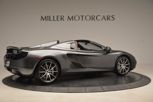 Used 2014 McLaren MP4-12C SPIDER Convertible for sale Sold at Maserati of Greenwich in Greenwich CT 06830 8