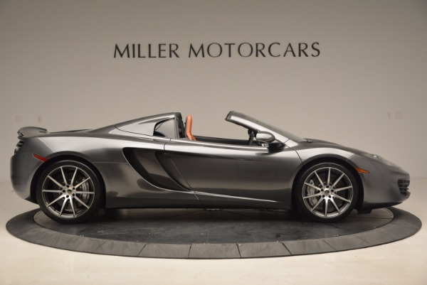 Used 2014 McLaren MP4-12C SPIDER Convertible for sale Sold at Maserati of Greenwich in Greenwich CT 06830 9