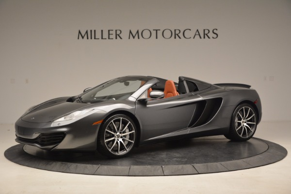 Used 2014 McLaren MP4-12C SPIDER Convertible for sale Sold at Maserati of Greenwich in Greenwich CT 06830 1