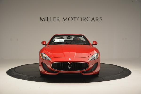 New 2017 Maserati GranTurismo Cab Sport for sale Sold at Maserati of Greenwich in Greenwich CT 06830 12