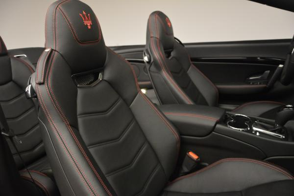New 2017 Maserati GranTurismo Cab Sport for sale Sold at Maserati of Greenwich in Greenwich CT 06830 27