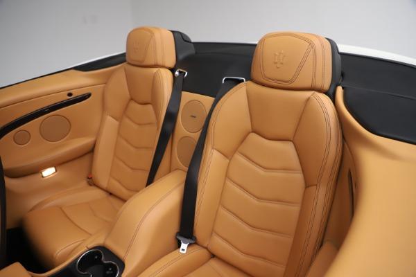 Used 2017 Maserati GranTurismo Convertible Sport for sale $84,900 at Maserati of Greenwich in Greenwich CT 06830 28