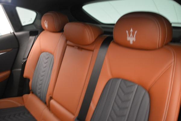 Used 2018 Maserati Levante Q4 GranLusso for sale Sold at Maserati of Greenwich in Greenwich CT 06830 17