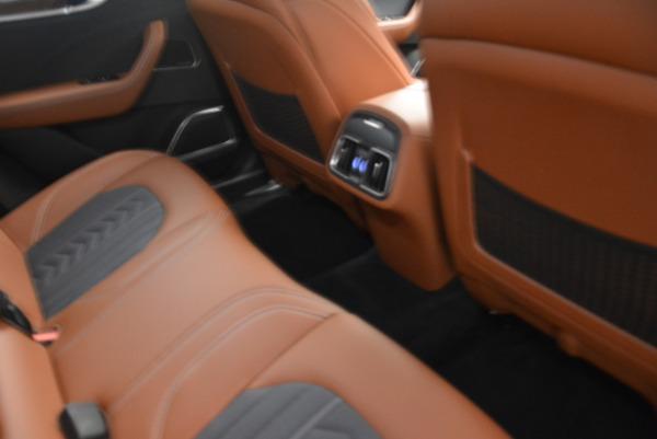 Used 2018 Maserati Levante Q4 GranLusso for sale Sold at Maserati of Greenwich in Greenwich CT 06830 20