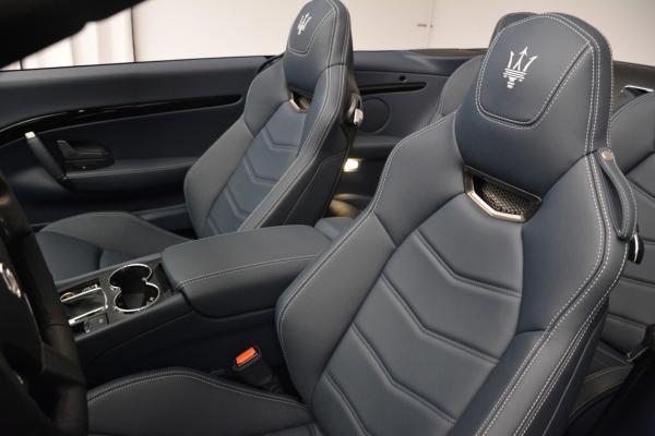 New 2016 Maserati GranTurismo Convertible Sport for sale Sold at Maserati of Greenwich in Greenwich CT 06830 22