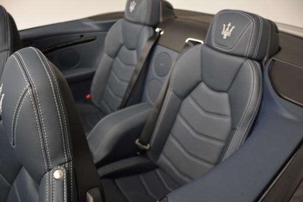 New 2016 Maserati GranTurismo Convertible Sport for sale Sold at Maserati of Greenwich in Greenwich CT 06830 25