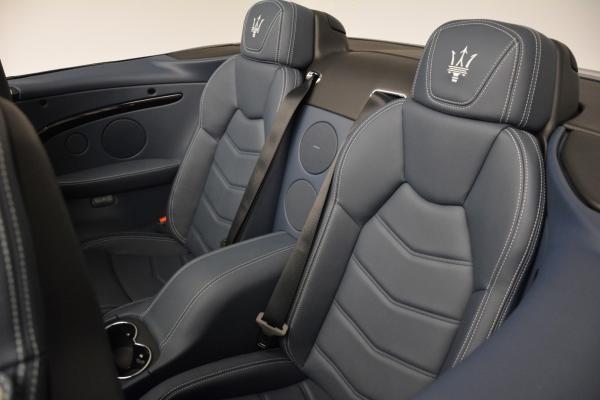 New 2016 Maserati GranTurismo Convertible Sport for sale Sold at Maserati of Greenwich in Greenwich CT 06830 26
