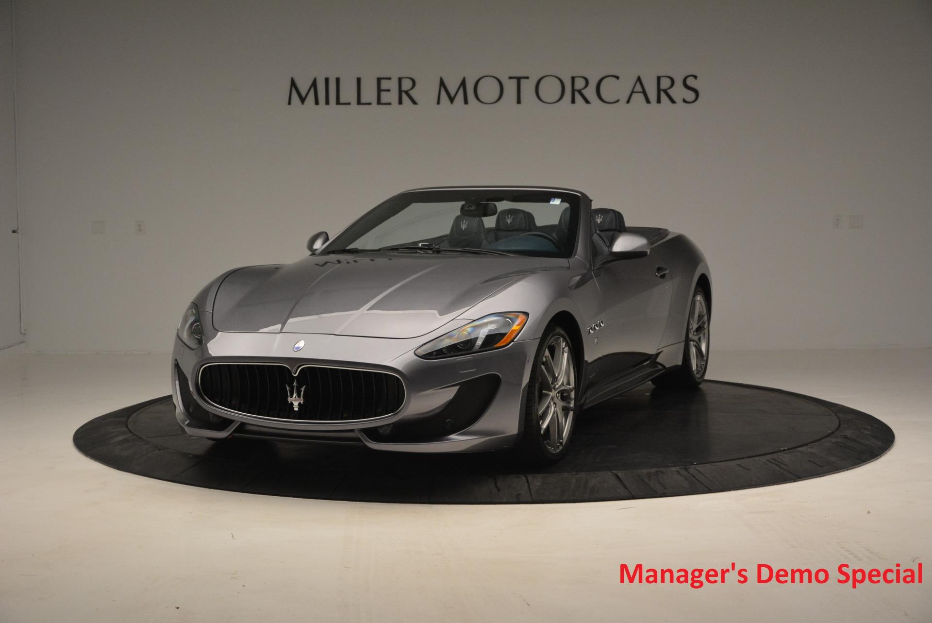 New 2016 Maserati GranTurismo Convertible Sport for sale Sold at Maserati of Greenwich in Greenwich CT 06830 1