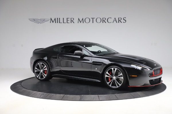 Used 2017 Aston Martin V12 Vantage S Coupe for sale $179,900 at Maserati of Greenwich in Greenwich CT 06830 9