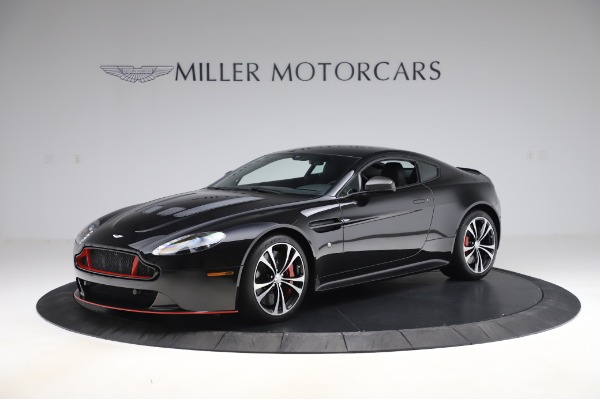 Used 2017 Aston Martin V12 Vantage S Coupe for sale $179,900 at Maserati of Greenwich in Greenwich CT 06830 1