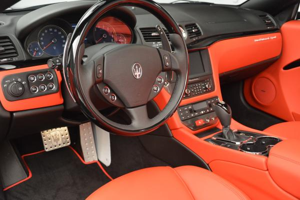 New 2016 Maserati GranTurismo Convertible Sport for sale Sold at Maserati of Greenwich in Greenwich CT 06830 25