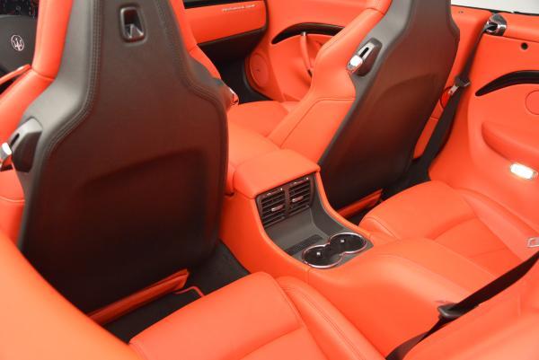 New 2016 Maserati GranTurismo Convertible Sport for sale Sold at Maserati of Greenwich in Greenwich CT 06830 28