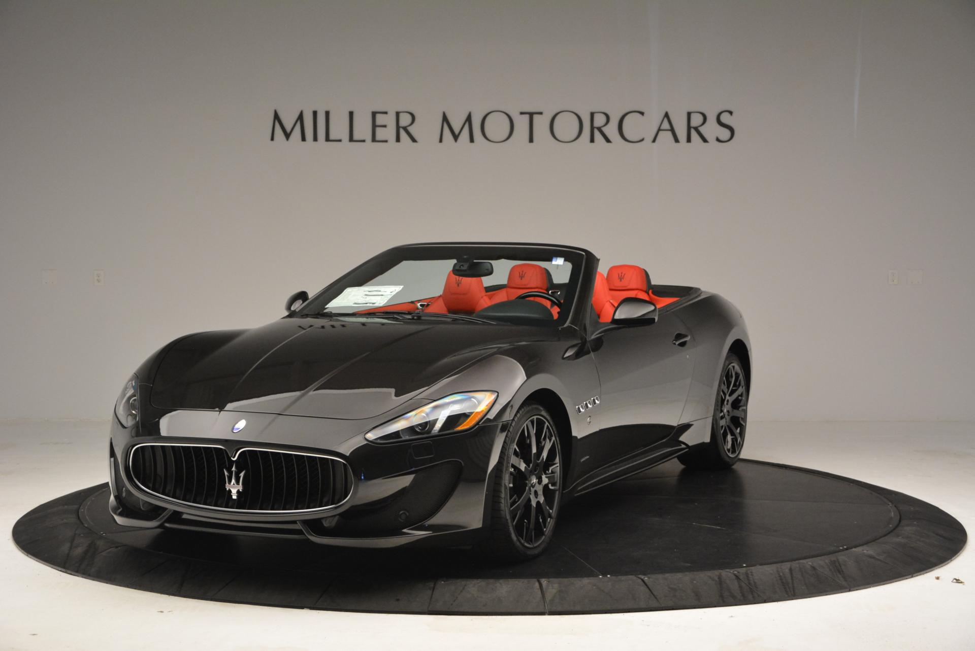 New 2016 Maserati GranTurismo Convertible Sport for sale Sold at Maserati of Greenwich in Greenwich CT 06830 1