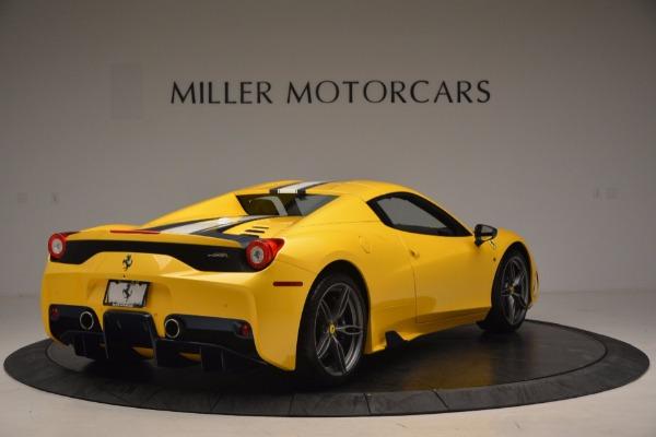 Used 2015 Ferrari 458 Speciale Aperta for sale Sold at Maserati of Greenwich in Greenwich CT 06830 17