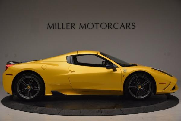 Used 2015 Ferrari 458 Speciale Aperta for sale Sold at Maserati of Greenwich in Greenwich CT 06830 18