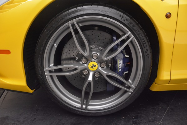 Used 2015 Ferrari 458 Speciale Aperta for sale Sold at Maserati of Greenwich in Greenwich CT 06830 28