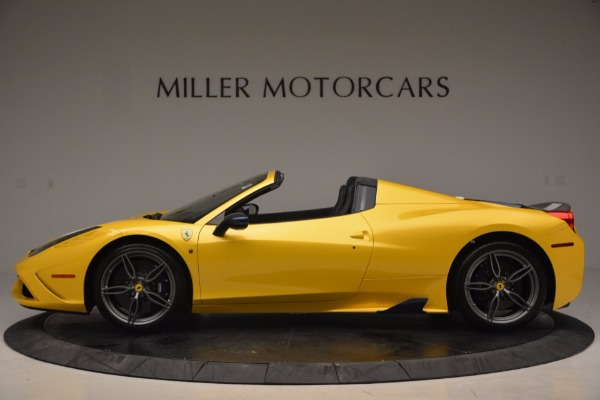 Used 2015 Ferrari 458 Speciale Aperta for sale Sold at Maserati of Greenwich in Greenwich CT 06830 3