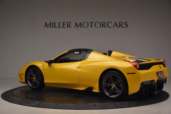 Used 2015 Ferrari 458 Speciale Aperta for sale Sold at Maserati of Greenwich in Greenwich CT 06830 4