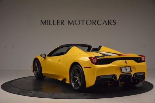 Used 2015 Ferrari 458 Speciale Aperta for sale Sold at Maserati of Greenwich in Greenwich CT 06830 5